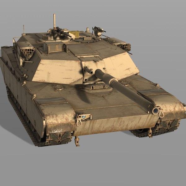 3D m1 usa main model