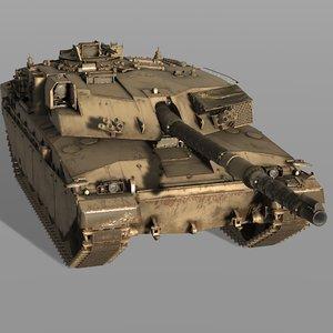 3D model challenger 1