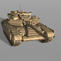3D t-64bv main battle