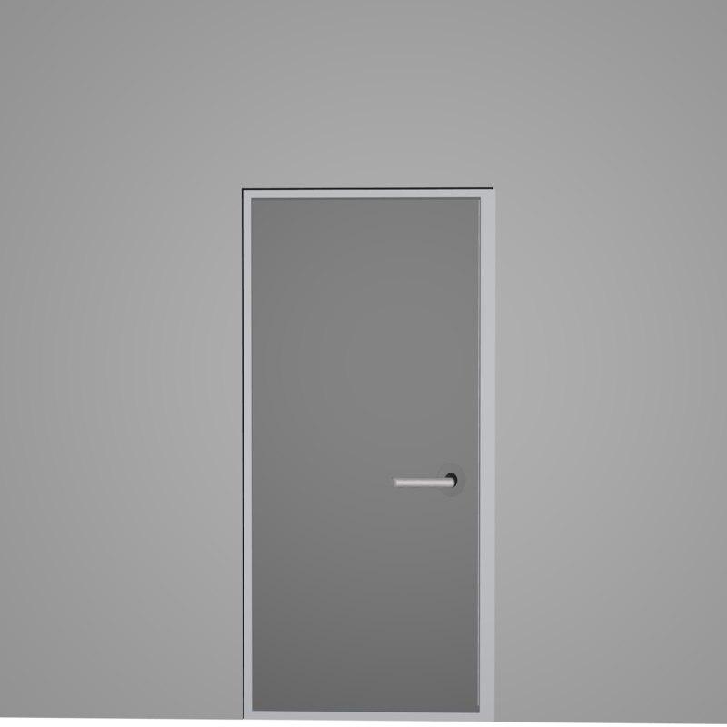 door unity modern 3D model