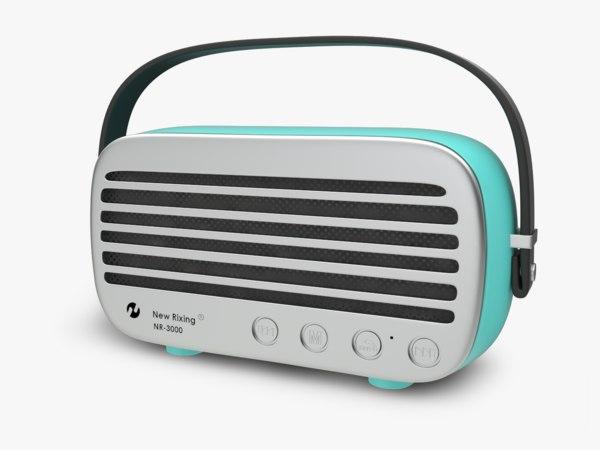 bluetooth speakers nr3000 3D model