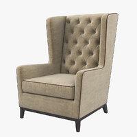 Asnaghi Aurora Lounge Armchair