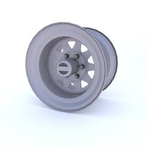 3D model rim 4x4