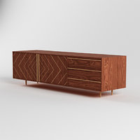 3D model mod buffets sideboards