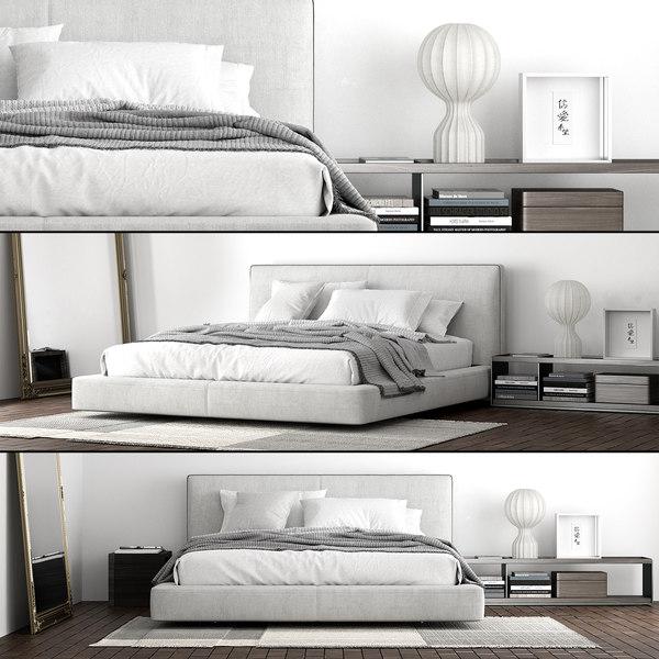 3D b italia richard bed