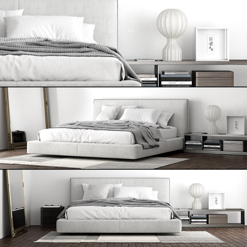 3D b italia richard bed