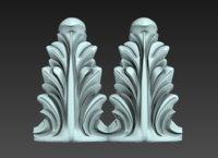 3D decorate facades model