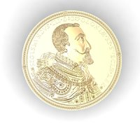 coin replica poland sigismund 3D model