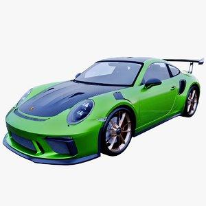 porsche 911 gt3 rs 3D model