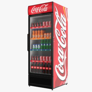 filled coca cola model