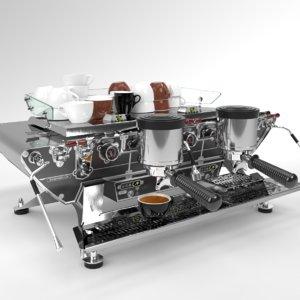 blender 2 grouped kees 3D model