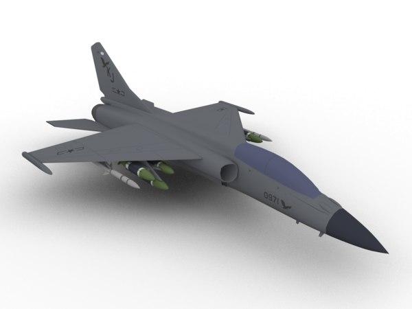 jh-7 xian 3D model