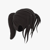 Cartoon Hair