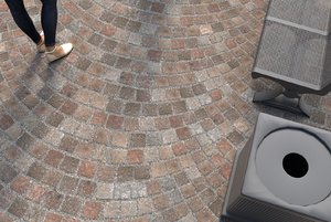 cobbles porphyry 3D model