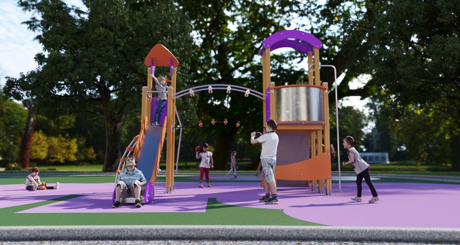 galopin fusion af002al playground 3D model