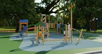 galopin comic p playground 3D