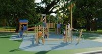 galopin comic p playground 3D