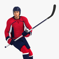 Hockey Player HQ 001