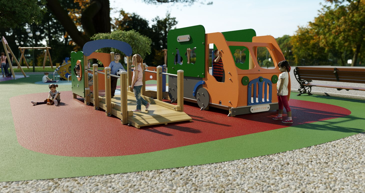 3D galopin f405a p playground model