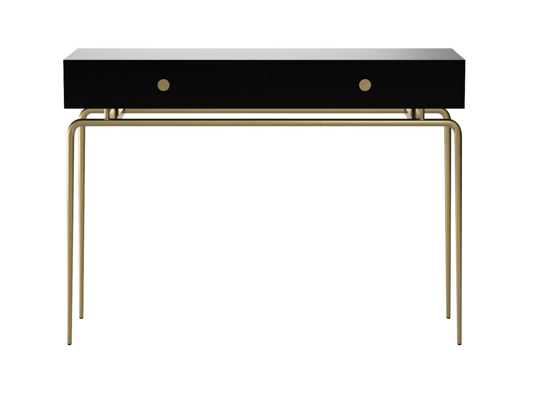 3D debourgeoisee console table model