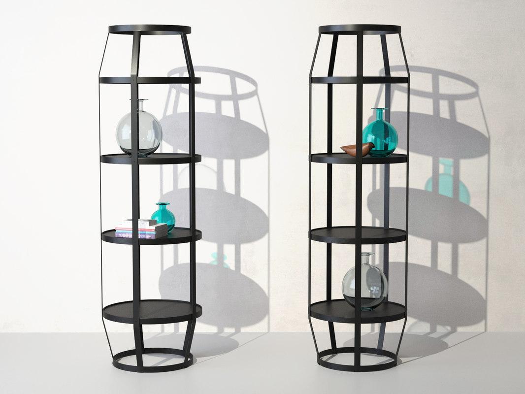 3D model babele shelf