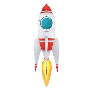 space rocket 3D