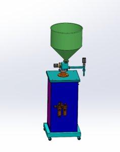 3D vertical filling machine