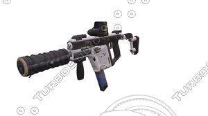 ammo weapon 3D model