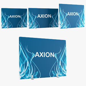 axion wall inflatable 3D
