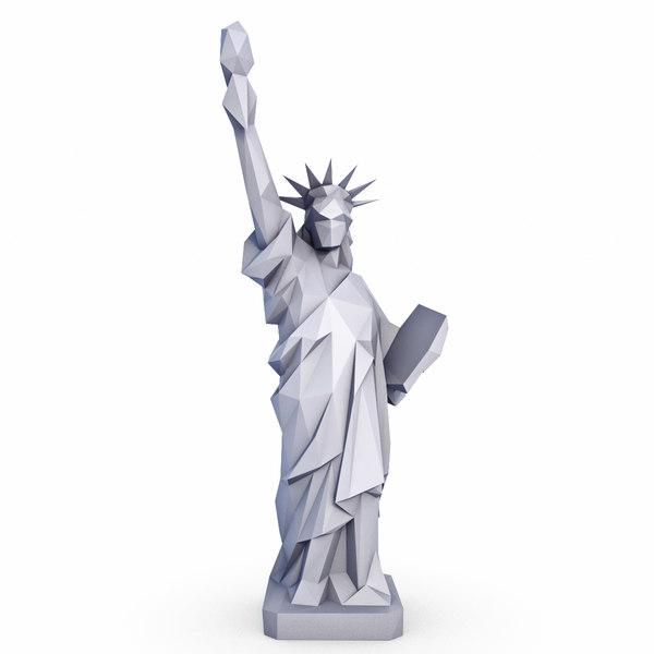 statue liberty v2 model