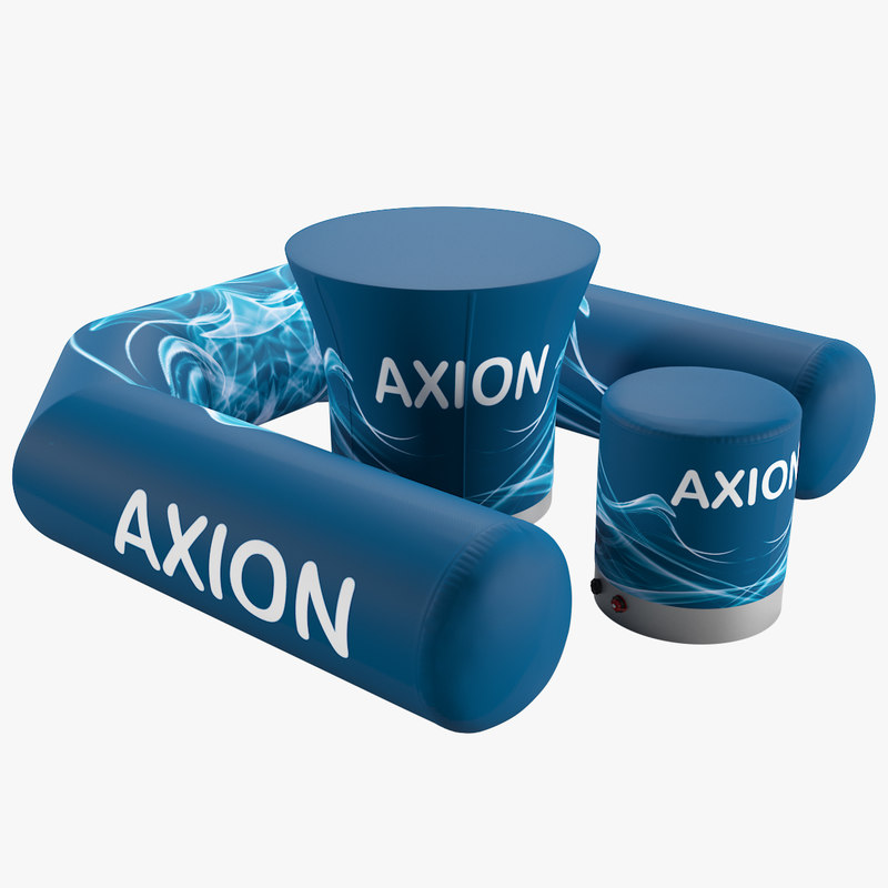 axion seat table 3D model