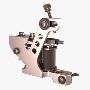tattoo machine 3D model