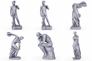 sculptures model