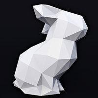 bunny 1 3D model