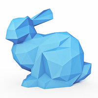 Bunny Low Poly 2