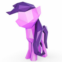 little pony 3D model