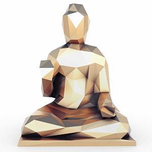buddha 2 3D model
