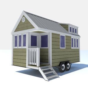 - tiny house 1 3D