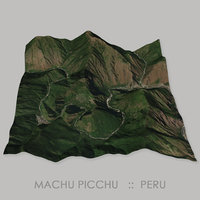 Machu Picchu Megalithic Site Terrain