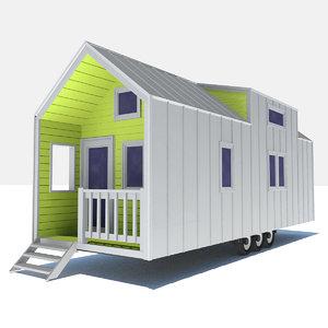 - tiny house 2 3D model