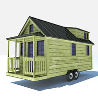 Tiny House 4 - HD Mini Home and Trailer