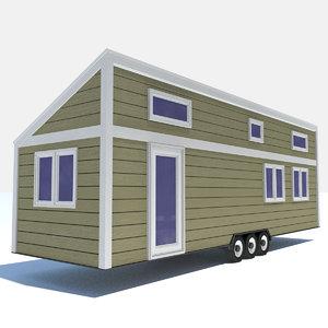 3D - tiny house 5 model