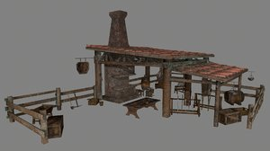 3D anvil blacksmith