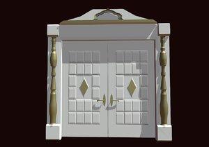 3D door houses