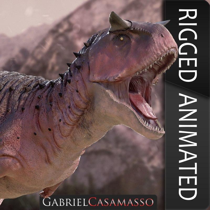 carnotaurus sastrei 3D