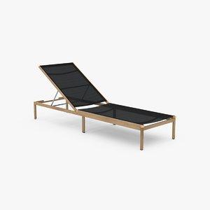 3D lounger sling