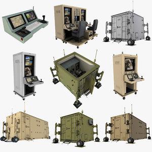 uav controls 3D model