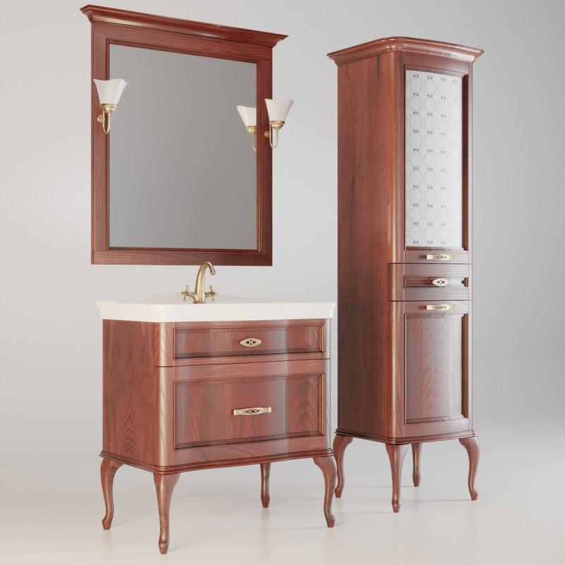 bath bathroom classic 3D