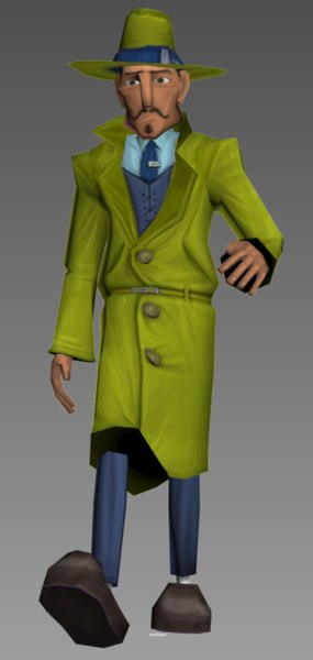 3D character spy