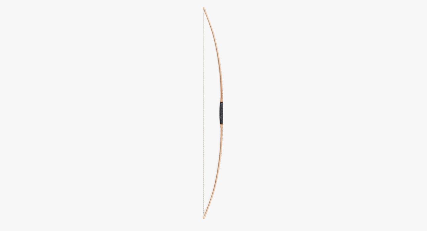 viking bow 3D model
